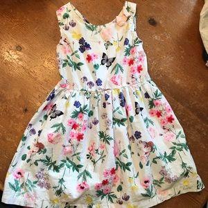 H&M little girl floral dress